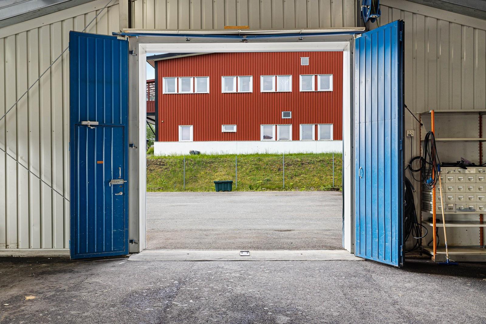 Kjøreport til verksted, størrelse 3,5 x 3,5 meter