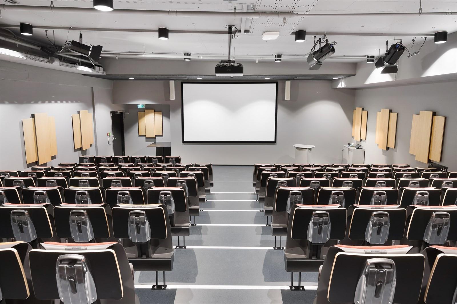 Topp moderne auditorium, inkludert i leien