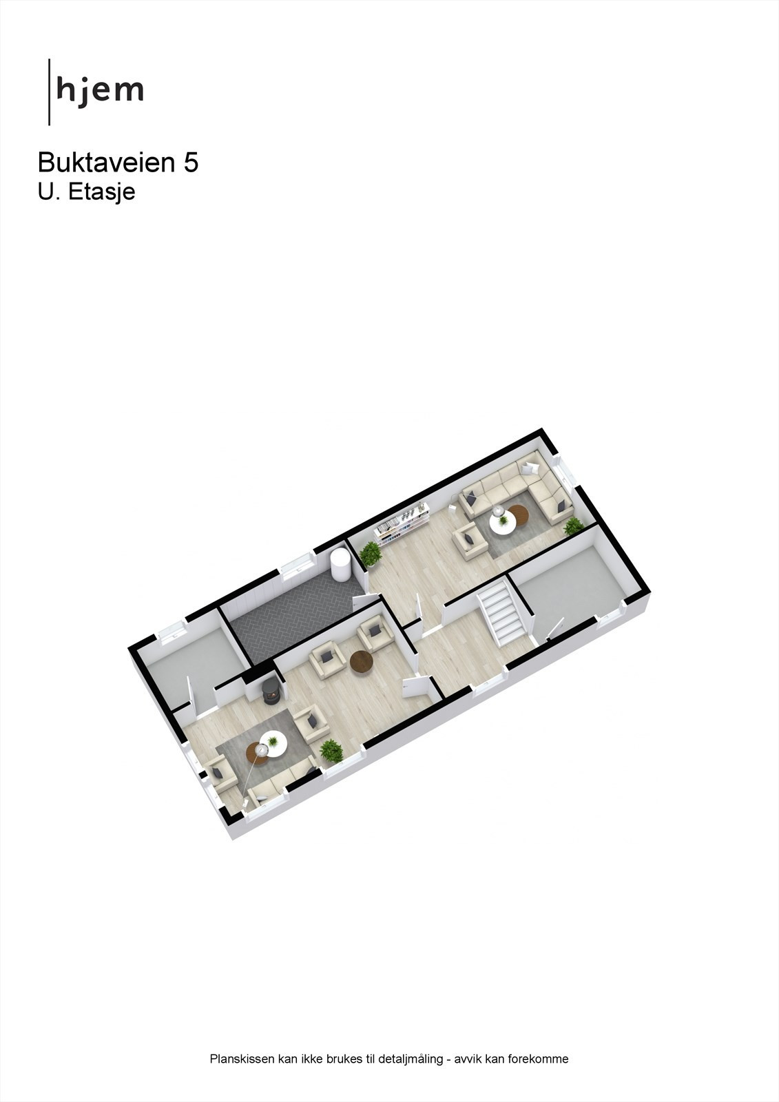 Buktaveien 5 - 3D - U. Etasje