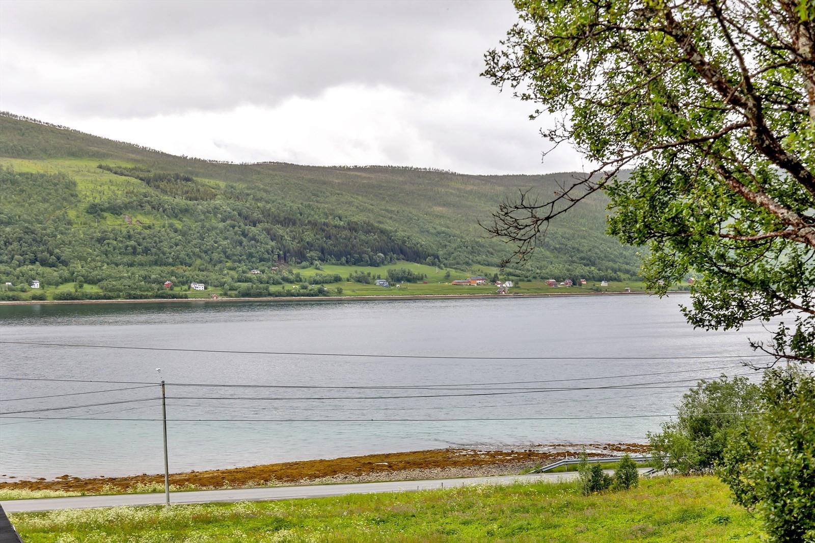 Utsikt mot Langsundet og Reinøya.
