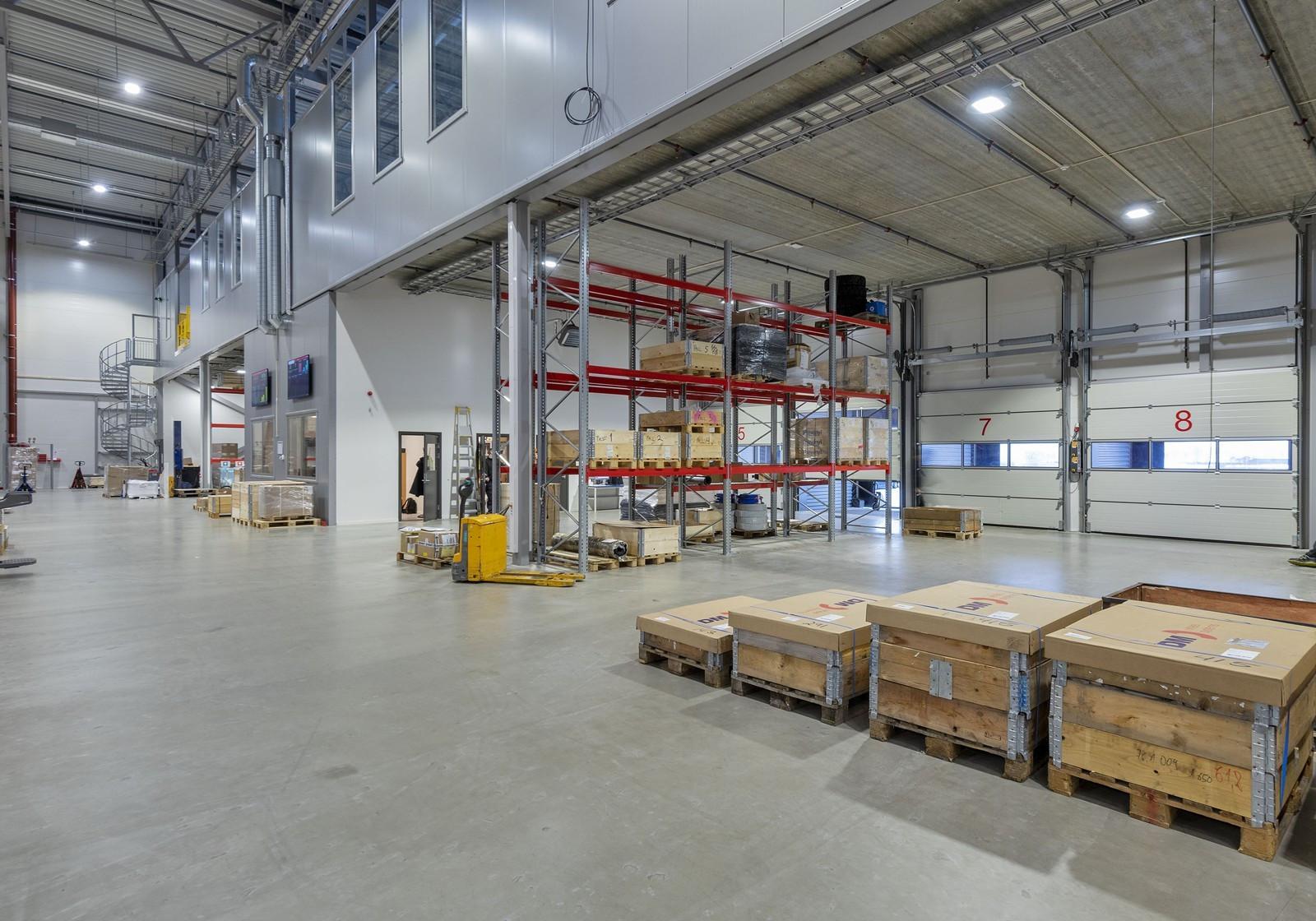 Porter til høytlager - eksisterende bygg