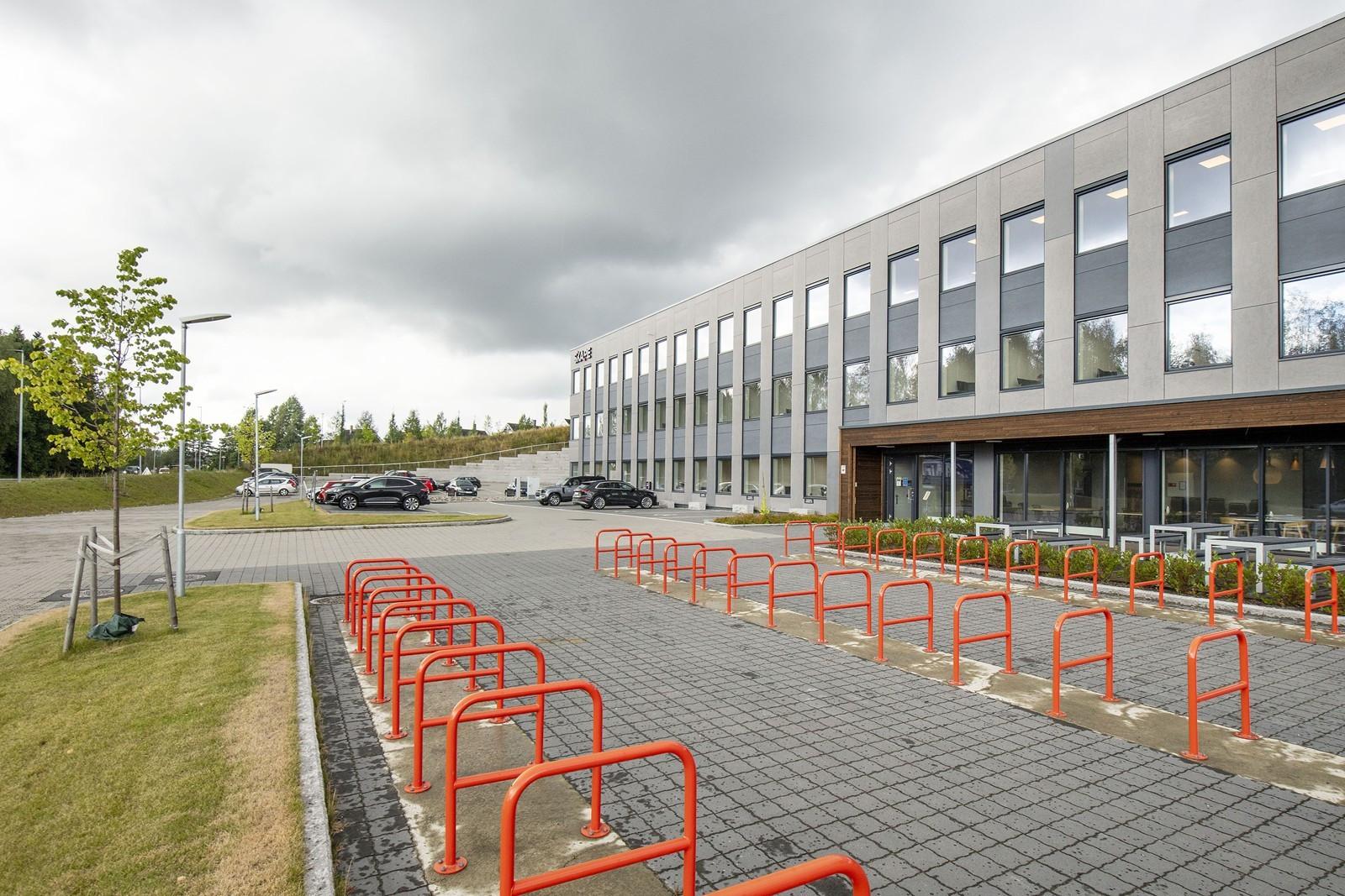 God plass for sykkelparkering