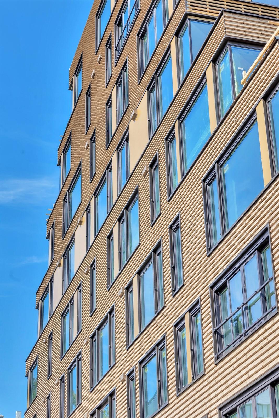 Tegelstein på alle fasader