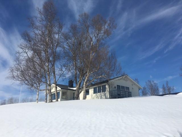 Huset vinter - Selgerens egne bilder