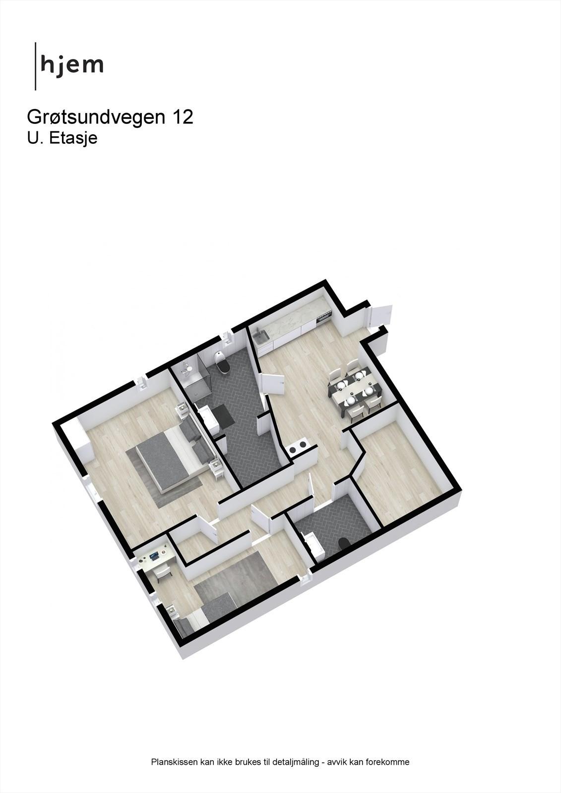 Plantegning 3d, u. etasje