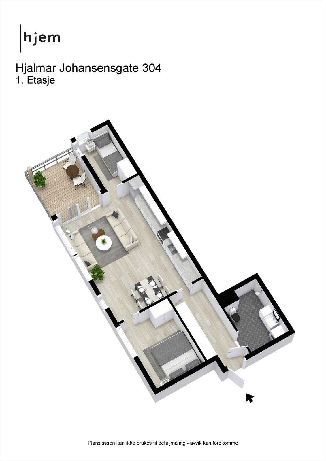 3D planillustrasjon