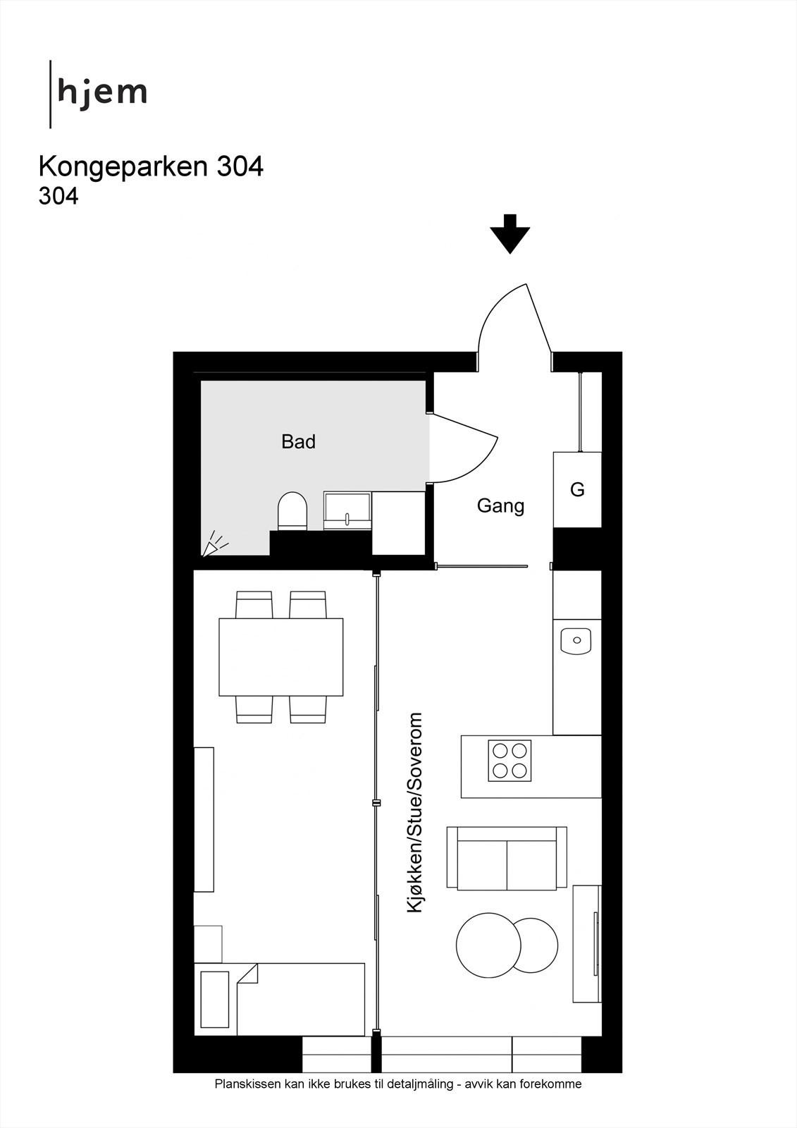 Kongeparken 304 - 2D -