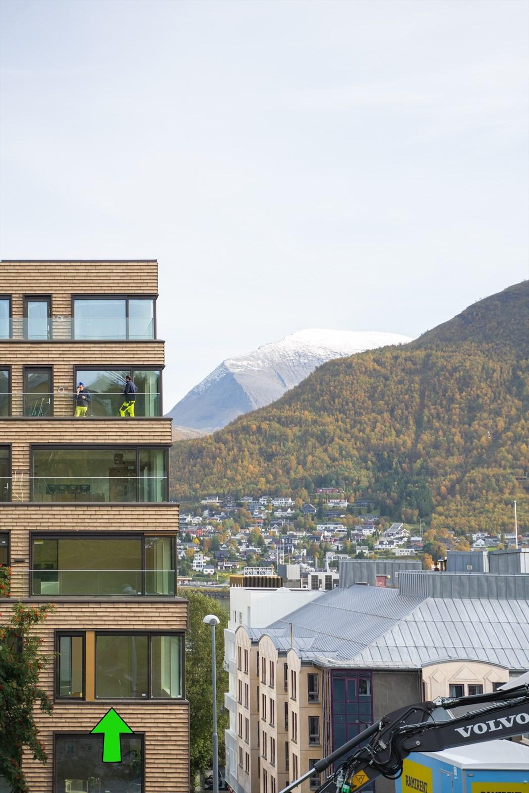 Parkgata 15 - Leilighet 504 - 5.etasje 3 roms hjørne leilighet