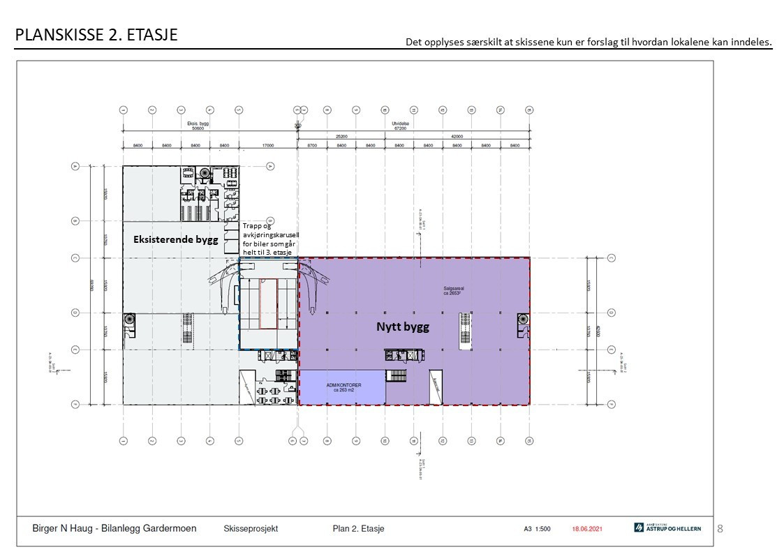 Planskisse - 2 etasje