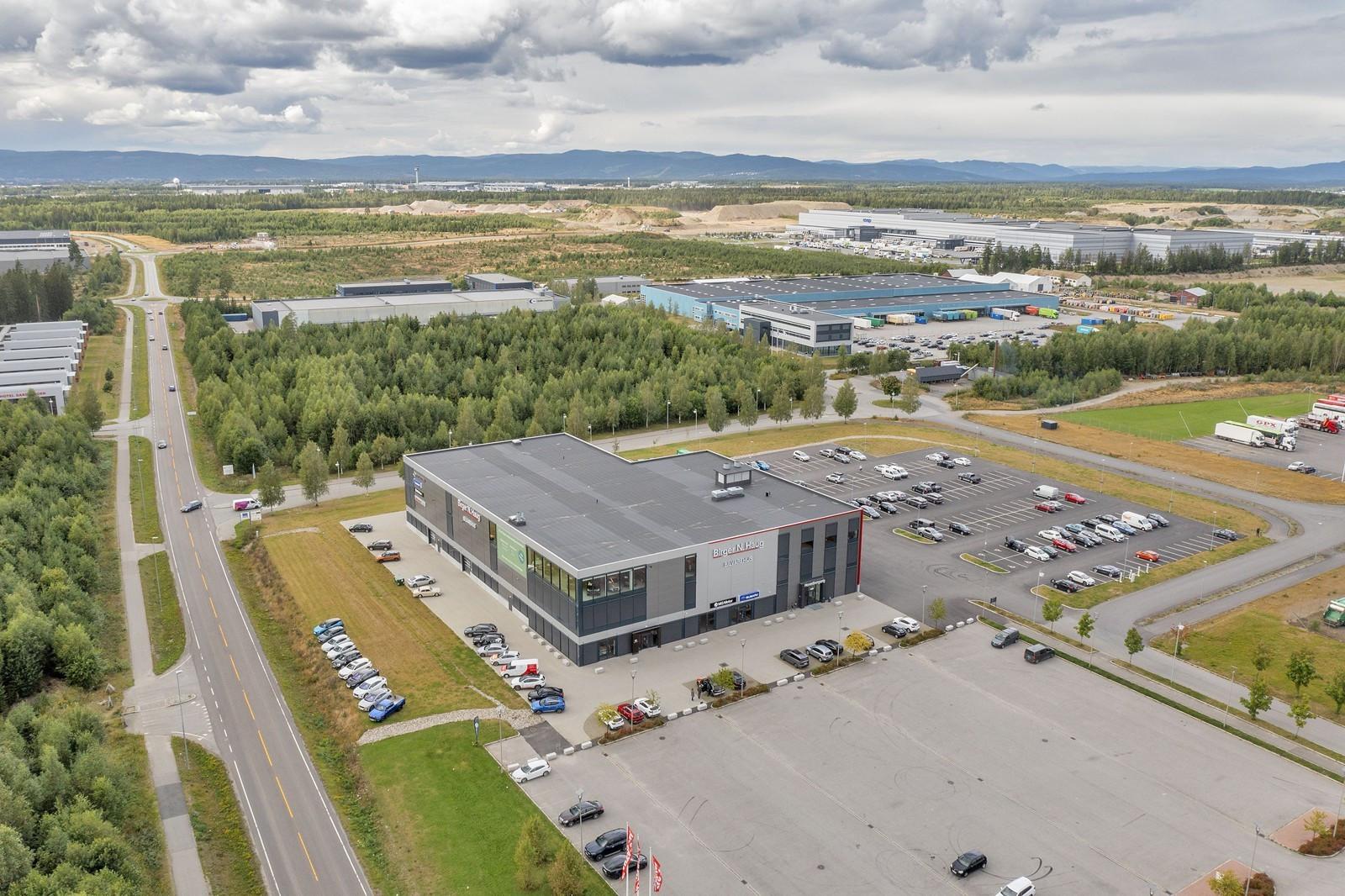Nybygget etableres som forlengelse av eks. bygg.