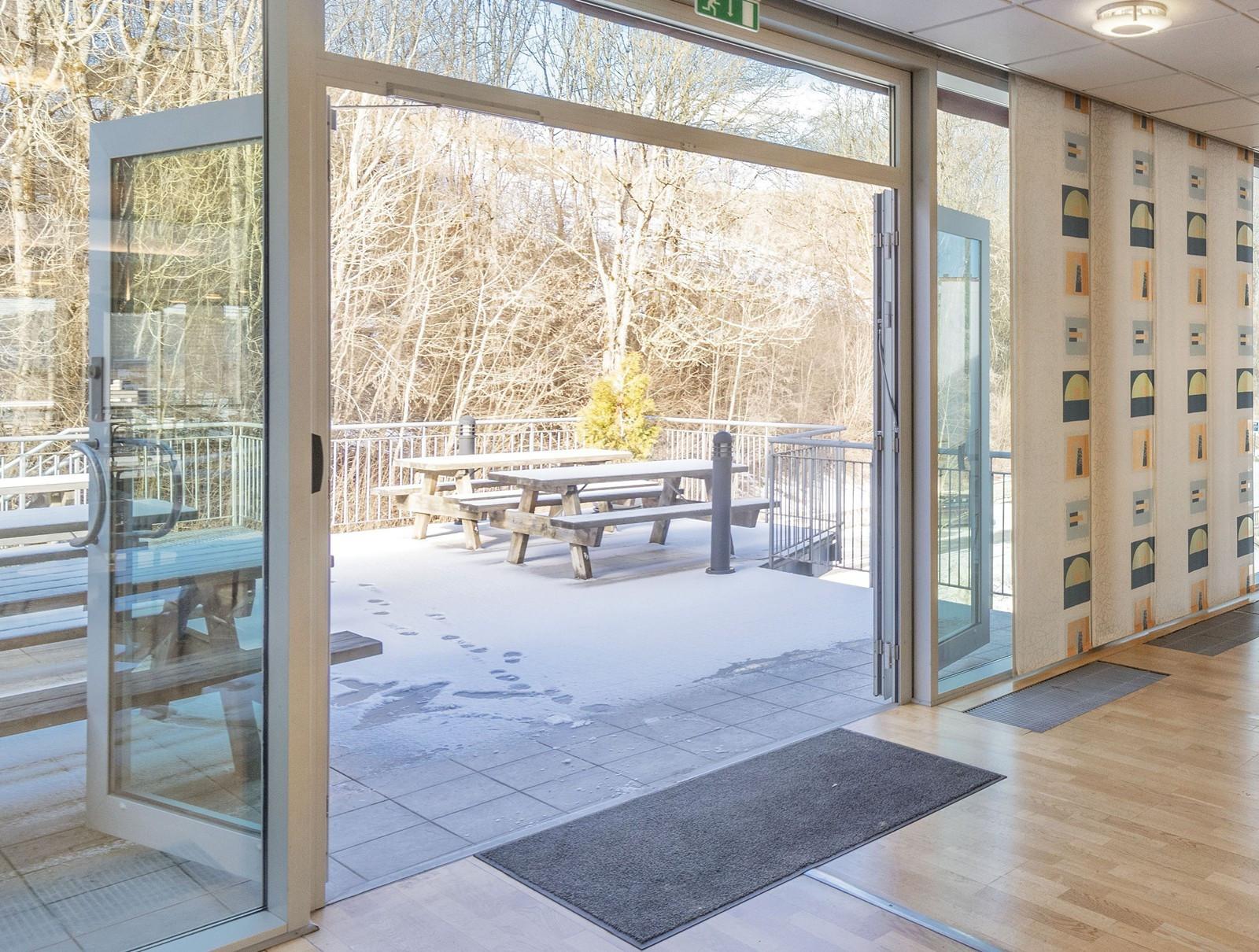 Kontor 3. etasje - Utgang til egen terrasse