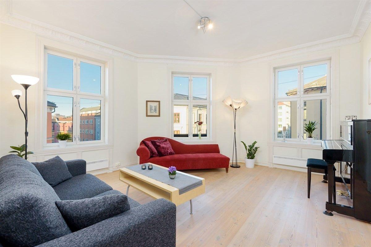 4-roms leilighet - Grünerløkka-Sofienberg - Oslo - 4 450 000,- Schala & Partners