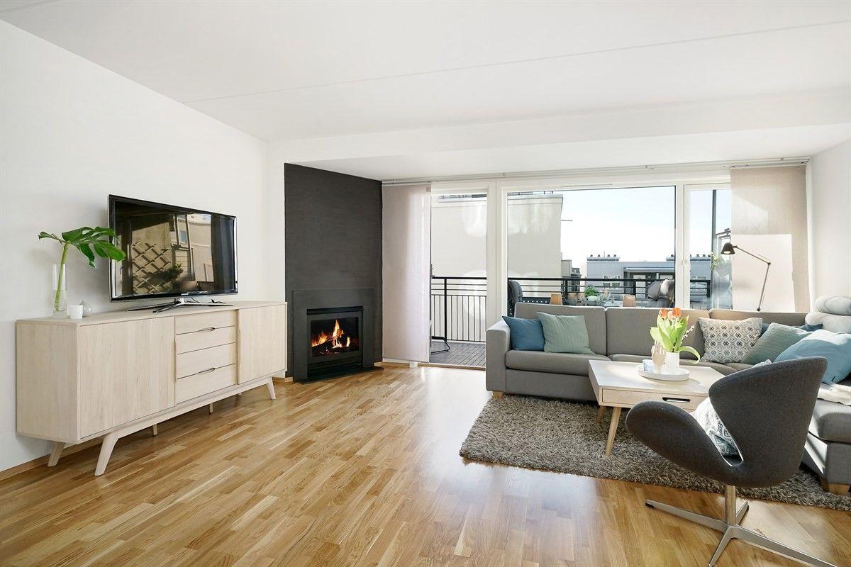 4-roms leilighet - Helsfyr-Sinsen - Oslo - 5 000 000,- Nordvik & Partners