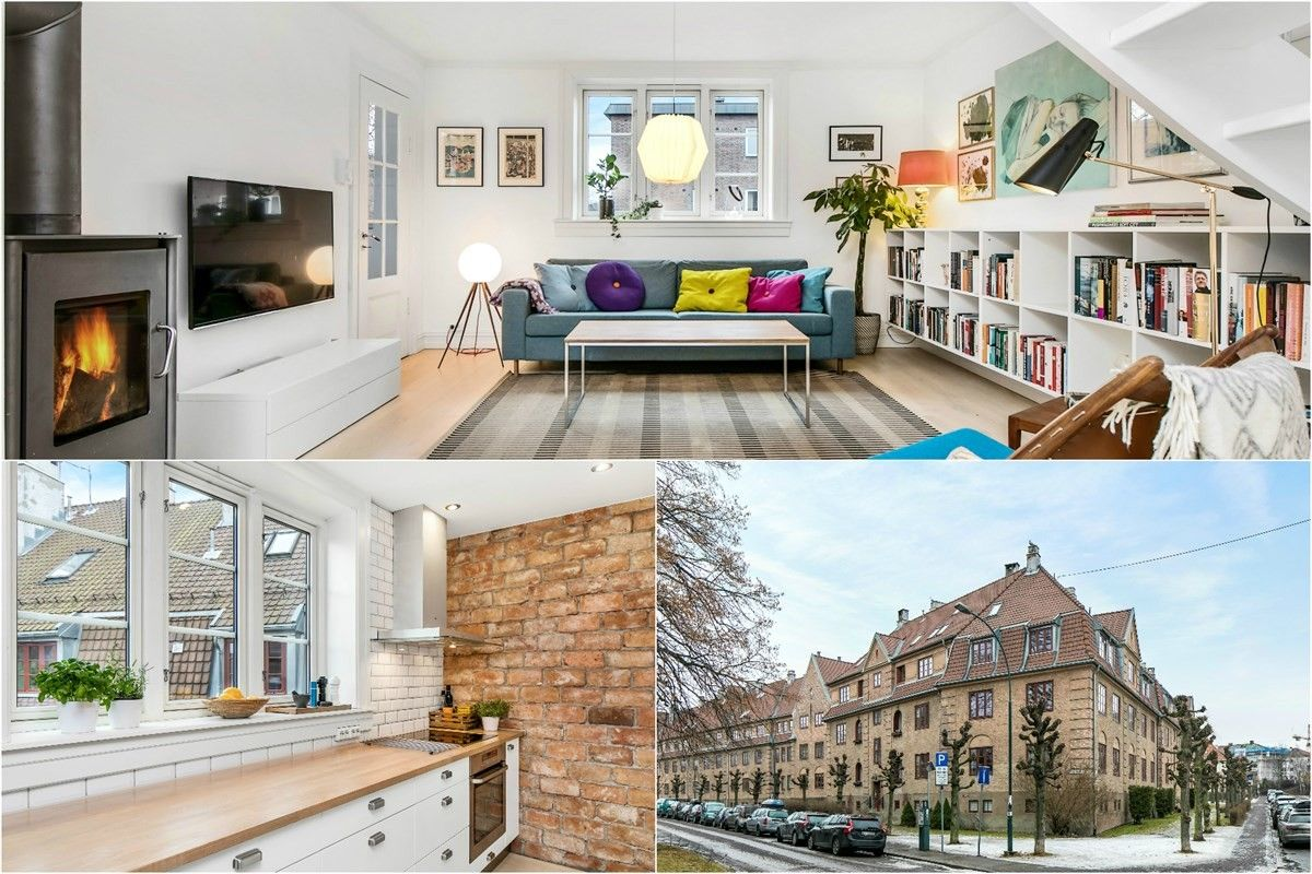 3-roms leilighet - St. Hanshaugen-Ullevål - Oslo - 6 000 000,- Schala & Partners