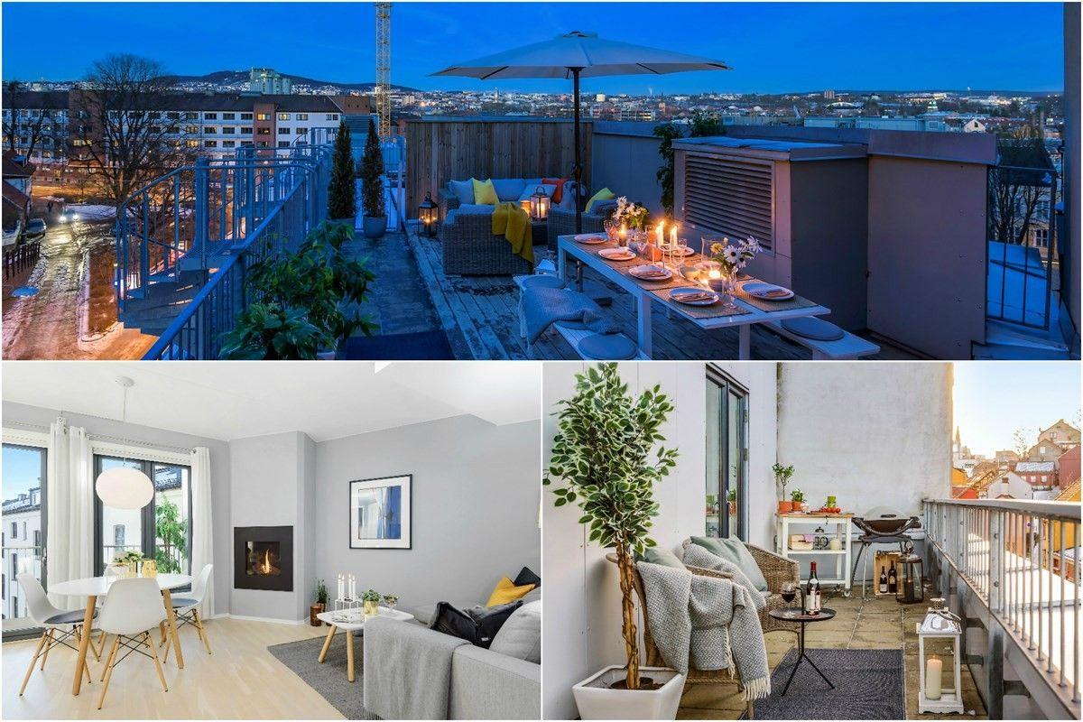 2-roms leilighet - St. Hanshaugen-Ullevål - Oslo - 4 600 000,- Schala & Partners