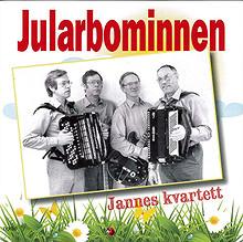Jannes kvartett - Jularbominnen - CD