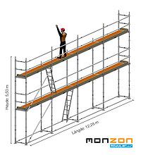 Stillaspakke 67 m2 fra MonZon Modular Light