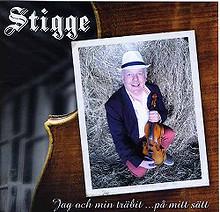 """Stigge - """"Jag och min träbit.på mitt sätt"""" - CD"""
