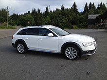 Audi A4 allroad Norsk, Skinn, Webasto, ACC, Keyless  2013, 46000 km, kr 520000,-