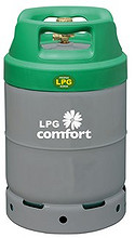 Propanflaske 10 kg stål LPG Comfort