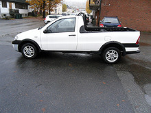 Fiat Strada 13 Diesel  2009, 49327 km, kr 59943,-