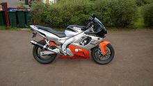 Yamaha YZF600R Thundercat 1998, 64500 km, kr 32000,-