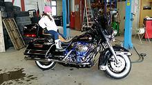 Harley-Davidson Elektra Glide 1999, 1377 km, kr 110000,-