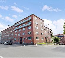 Attraktivt beliggende, arealeffektiv hybelleilighet på Fagerborg