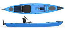Kajakk- Fiskekajakk Tahe Marine SOT 132 m/ror