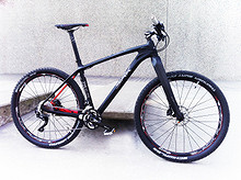 """Kampanje! Birk Elite 275 karbon 27,5"""" terrengsykkel inkl. pedaler og fl. holdere"""