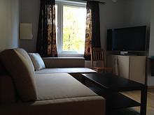 Fullt møblert og utstyrt hybel til leie i Kværnerbyen