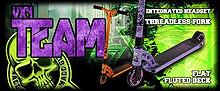 MADD Sparkesykler og utstyr VX4 Team / Extreme