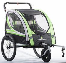 Merida sykkelvogner 1 barn 2 barn trillevogn