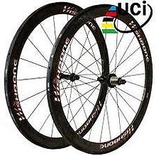 Tilbud! Wishbone Elite 50T karbon landevei UCI 1329g 4990,-