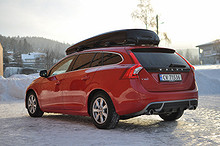 Volvo V60 D2 R-DESIGN Automat Velutstyrt  2013, 6000 km, kr 394900,-