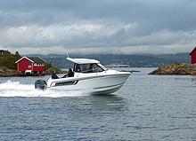 JEANNEAU 605 MERRY FISHER m/YAMAHA. VI TILBYR HENGER!
