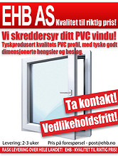 Vedlikeholdsfrie PVC vinduer!