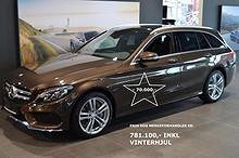 Mercedes-Benz C-Klasse 2,2 NEDSATT 70.000,- C250 TBT 4 Matic AMG  2015, 16 km, kr 709900,-