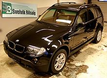 BMW X3 2,0D 177 HK. Autom./pano-tak!  2008, 144000 km, kr 232500,-