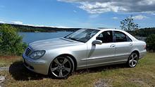 Mercedes-Benz S-Klasse 320 CDI Automat Skinn Xenon Navi  2003, 172000 km, kr 170500,-