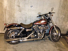 Harley-Davidson FXDC Dyna Superglide Custom 2011, 5350 km, kr 375000,-