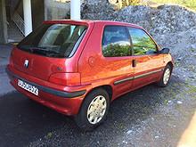 Peugeot 106  1998, 118008 km, kr 26500,-