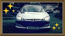 Peugeot 206 SW 1,6 109hk  2003, 173000 km, kr 24900,-