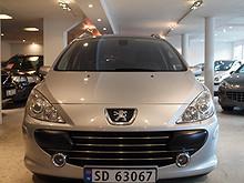 Peugeot 307 SW 1.6HDi 109HK 7-SETER PANO OXYGO H-F  2007, 119200 km, kr 72500,-