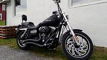 Harley-Davidson FXDB STREETBOB 2006, 22500 km, kr 160000,-
