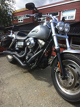 Harley-Davidson FatBob 2010, 40200 km, kr 180000,-
