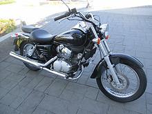 Honda Shadow VT125 2008, 1355 km, kr 33000,-