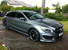 Mercedes-Benz CLA 200 Shooting Brake AMG 156 HK  2015, 5 800 km, kr 459 000,-