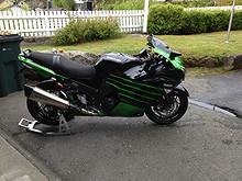 Kawasaki ZZR 1400 ABS 2015, 3600 km, kr 279000,-