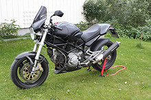 Ducati Monster Dark 900i.e 2002, 38 000 km, kr 69 000,-